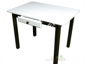 table avec tiroir table de cuisine avec tiroir table en pin neuf 3 ebay. Black Bedroom Furniture Sets. Home Design Ideas
