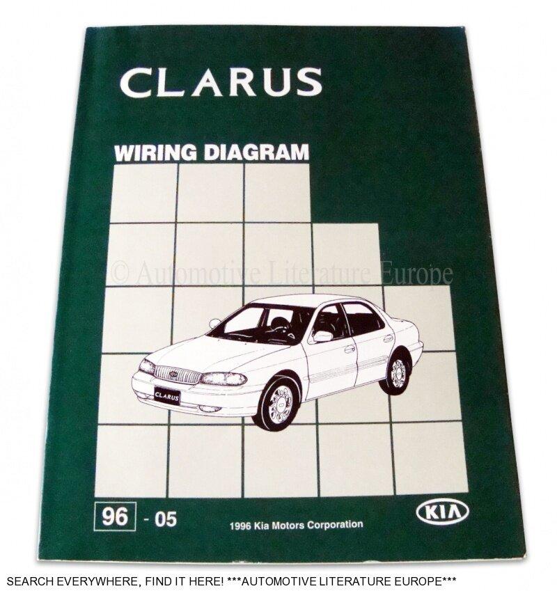 1996 KIA CLARUS WERKSTATTHANDBUCH ELEKTRIK SCHALTPLAN WIRING DIAGRAM ...